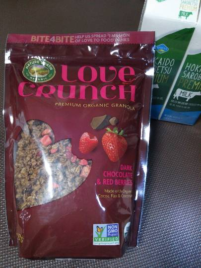 LOVE CRUNCH ORGANIC GRANOLA