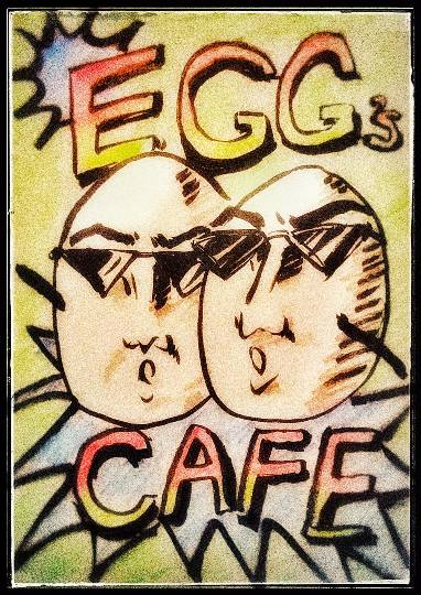 EGG'S CAFE in  America !! (なんちゃって~♪)
